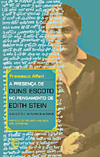 A Presença de Duns Escoto no Pensamento de Edith Stein, livro de Francesco Alfieri