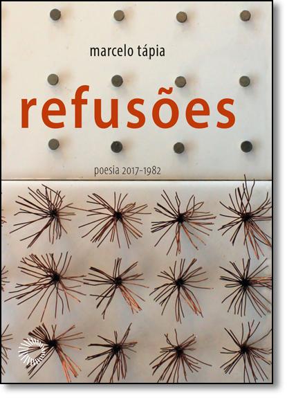 Refusões: Poesia 2017 - 1982, livro de Marcelo Tápia