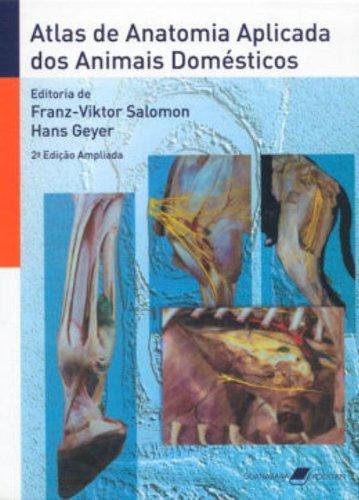 Atlas de Anatomia Aplicada dos Animais Domésticos, livro de Franz-Viktor Salomon