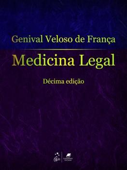 Medicina legal - 10ª edição, livro de Genival Veloso de França