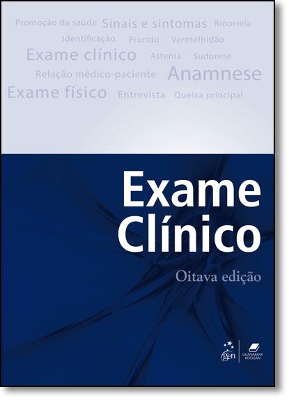 Exame Clínico, livro de Celmo Celeno Porto