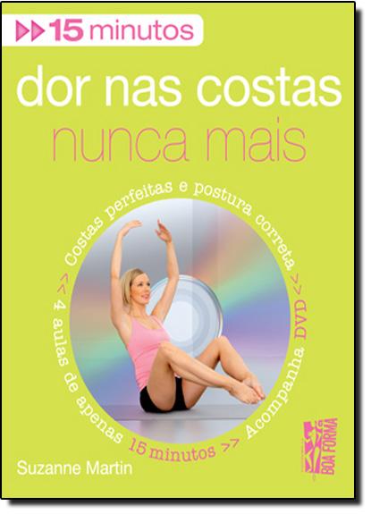 DOR NAS COSTAS NUNCA MAIS - CONTEM DVD, livro de Eugenio Garrido Martin