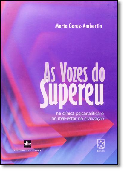 Vozes do Supereu, As, livro de Marta Gerez Ambertin