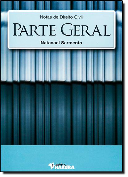 Notas de DireitoCivil - Parte Geral, livro de George Jerre Vieira Sarmento