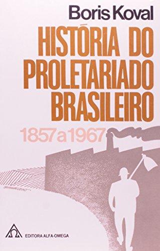 História do Proletariado Brasileiro – 1857 a 1967, livro de Boris Koval – Trad. Clarice Lima Avierina