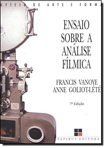 ENSAIO SOBRE A ANALISE FILMICA, livro de VANOYE, FRANCIS