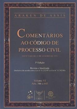 Comentários ao código de processo civil - 3ª edição, livro de Araken de Assis