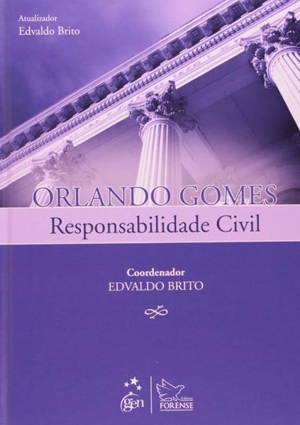 Responsabilidade civil, livro de Edvaldo Brito, Orlando Gomes