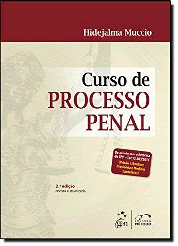 Curso de Processo Penal, livro de Hidejalma Muccio