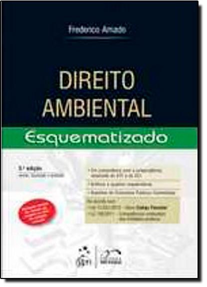 Direito Ambiental Esquematizado, livro de Frederico Augusto Di Trindade Amado