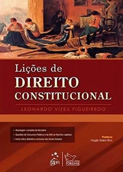 Lições de direito constitucional, livro de Leonardo Vizeu Figueiredo