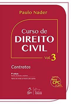 Curso de direito civil - Contratos - 8ª edição, livro de Paulo Nader