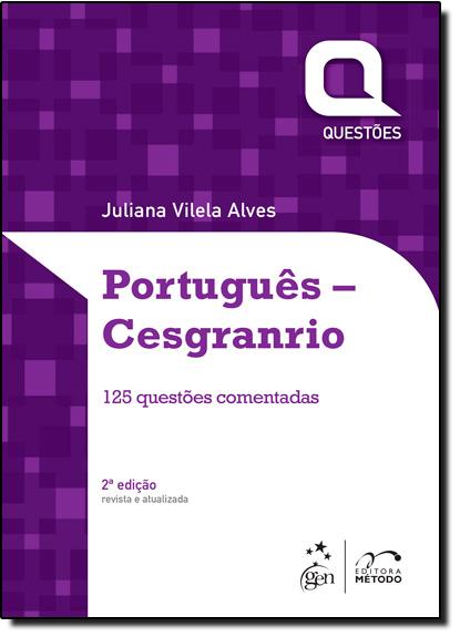Português: Cesgranrio, livro de Juliana Villela Alves