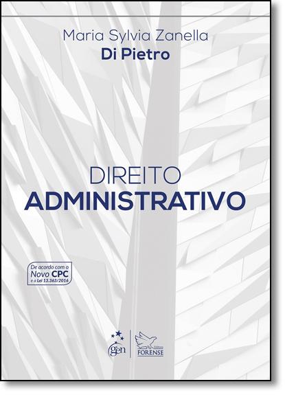 Direito Administrativo, livro de Maria Sylvia Zanella Di Pietro