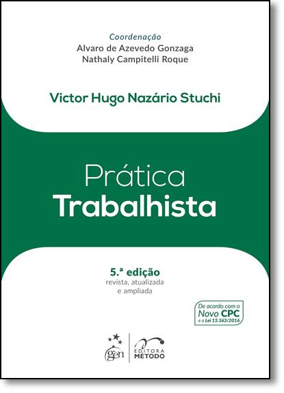 Prática Trabalhista, livro de Victor Hugo Nazário Stuchi
