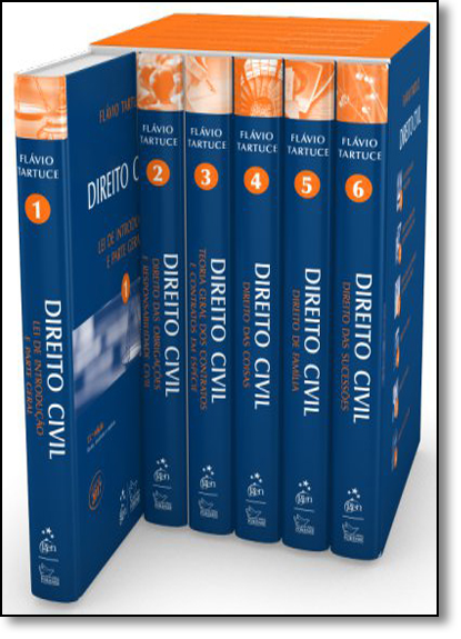 Coleção Direito Civil - 6 Volumes, livro de Flávio Tartuce