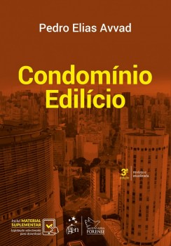 Condomínio Edilício - 3ª edição, livro de Pedro Elias Avvad