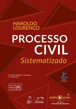 Processo civil sistematizado - 3ª edição, livro de Haroldo Lourenço
