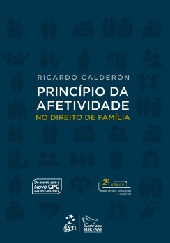 Princípio da afetividade no direito de família - 2ª edição, livro de Ricardo Calderón