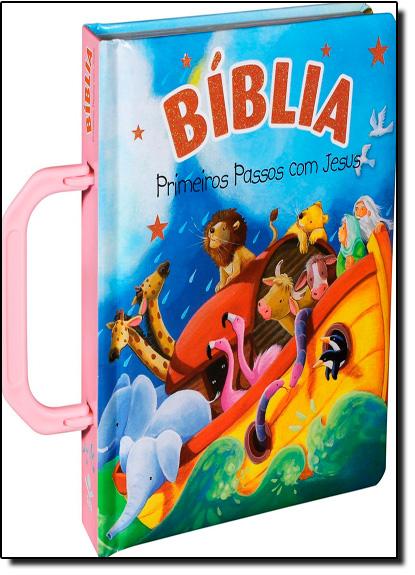 Bíblia Primeiros Passos com Jesus, livro de SBB - Sociedade Biblica do Brasil
