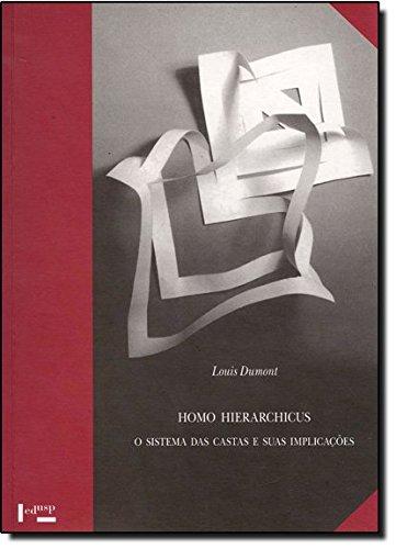 Homo Hierarchicus - O Sistema De Castas E Suas Implicacoes, livro de