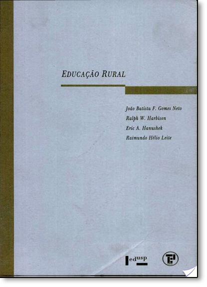 Educação Rural, livro de João Batista F. Gomes Neto