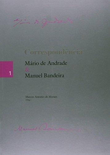 Correspondencia Mario De Andrade & Manuel Bandeira, livro de