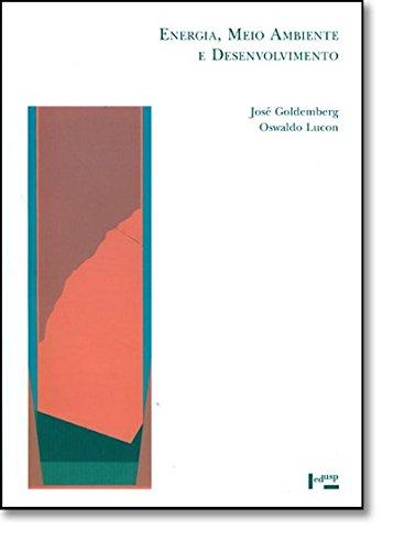 Energia, Meio Ambiente e Desenvolvimento, livro de José Goldemberg, Oswaldo Lucon