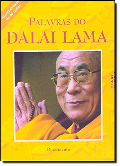 Palavras Do Dalai Lama - Acompanha 40 Cartas, livro de Dalai Lama