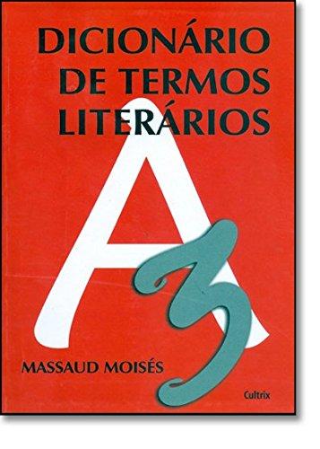 Dicionário de Termos Literários, livro de  Massaud Moisés