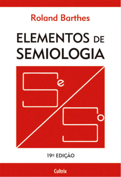 Elementos de semiologia, livro de Roland Barthes