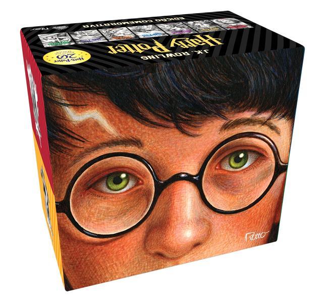 BOX HARRY POTTER EDIÇÃO COMEMORATIVA 20 ANOS - CAPA DURA, livro de J.K Rowling