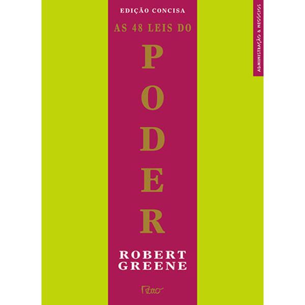 As 48 leis do poder, livro de GREENE, ROBERT; ELFFERS, JOOST