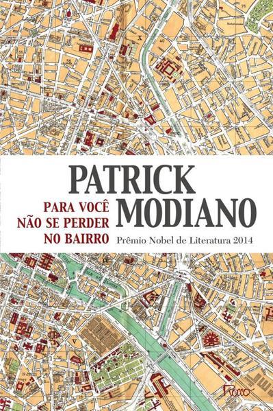 Para você não se perder no bairro, livro de Patrick Modiano
