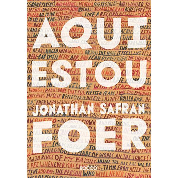 Aqui Estou, livro de Jonathan Safran Foer