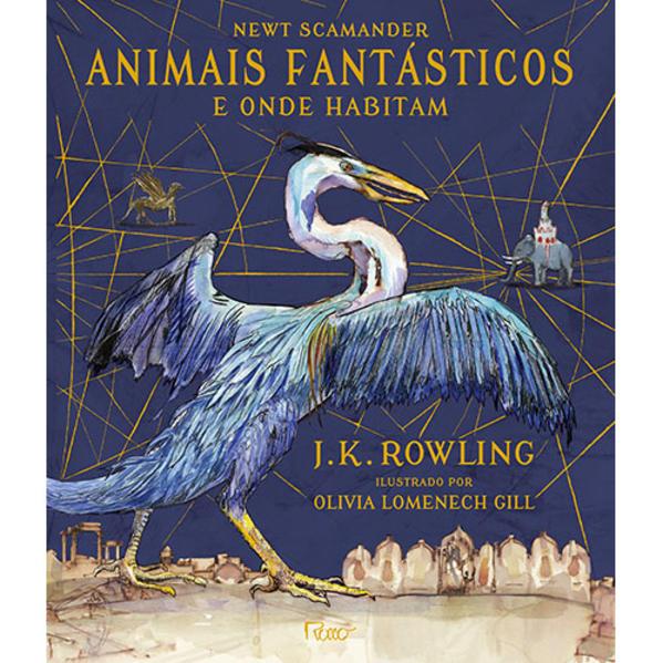 Animais fantásticos e onde habitam, livro de J.K. Rowling