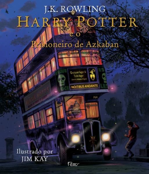 Harry Potter e o prisioneiro de Azkaban - Ilustrado, livro de J.K. Rowling