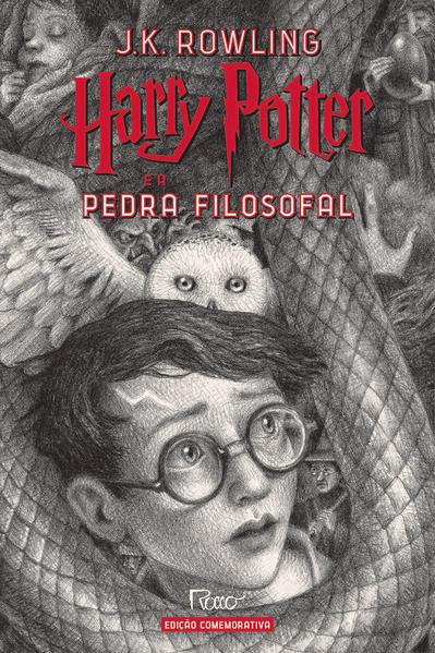 HARRY POTTER E A PEDRA FILOSOFAL (CAPA DURA) – Edição Comemorativa dos 20 anos da Coleção Harry Potter, livro de J.K Rowling