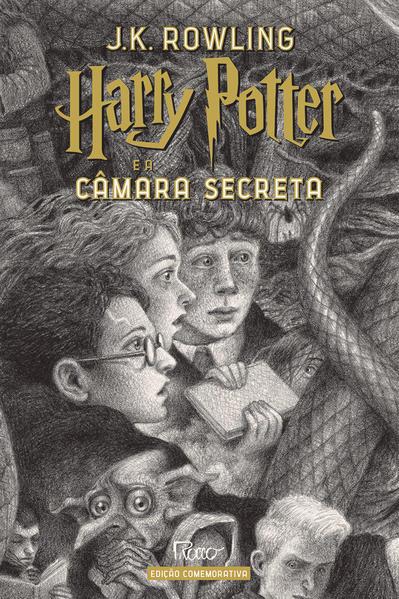 HARRY POTTER E A CÂMARA SECRETA (CAPA DURA) – Edição Comemorativa dos 20 anos da Coleção Harry Potter, livro de J.K Rowling