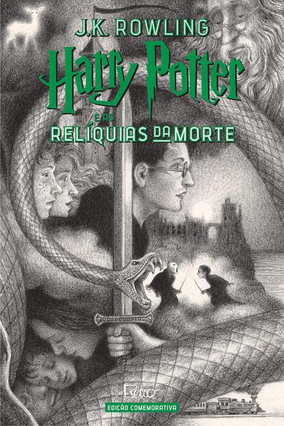 HARRY POTTER E AS RELÍQUIAS DA MORTE (CAPA DURA) – Edição Comemorativa dos 20 anos da Coleção Harry Potter –, livro de J.K Rowling