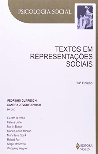 Textos em representações sociais, livro de Sandra Jovchelovitch e P. Guareschi (Orgs.)
