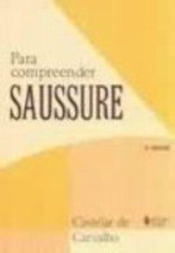 Para compreender Saussure, livro de Castelar de Carvalho