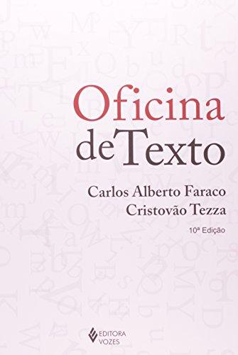 Oficina de texto, livro de Carlos Alberto Faraco e Cristovão Tezza