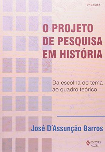 Projeto de pesquisa em história, livro de José D