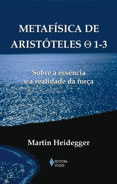 Metafísica de Aristóteles 0 1-3, livro de Martin Heidegger