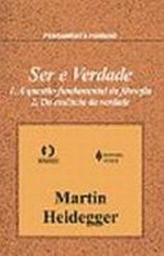 Ser e verdade, livro de Martin Heidegger