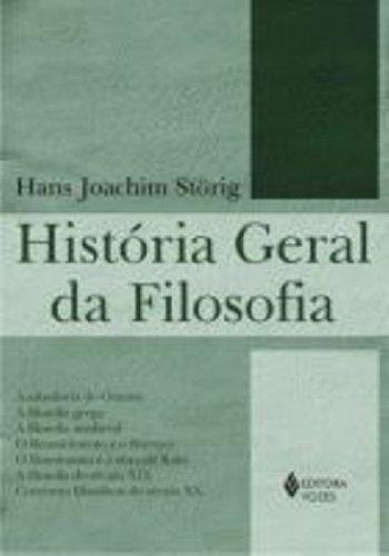 História geral da filosofia, livro de Hans Joachim Storing