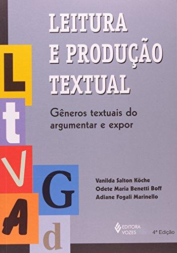 Leitura e produção textual, livro de Vanilda Salton Köche