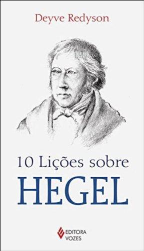 10 lições sobre Hegel, livro de Deyve Redyson
