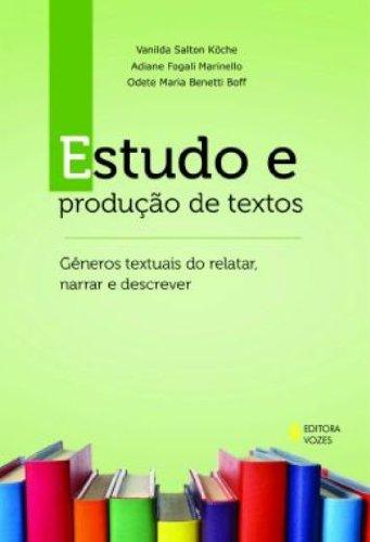 Estudo e produção de textos, livro de Vanilda Salton Koche